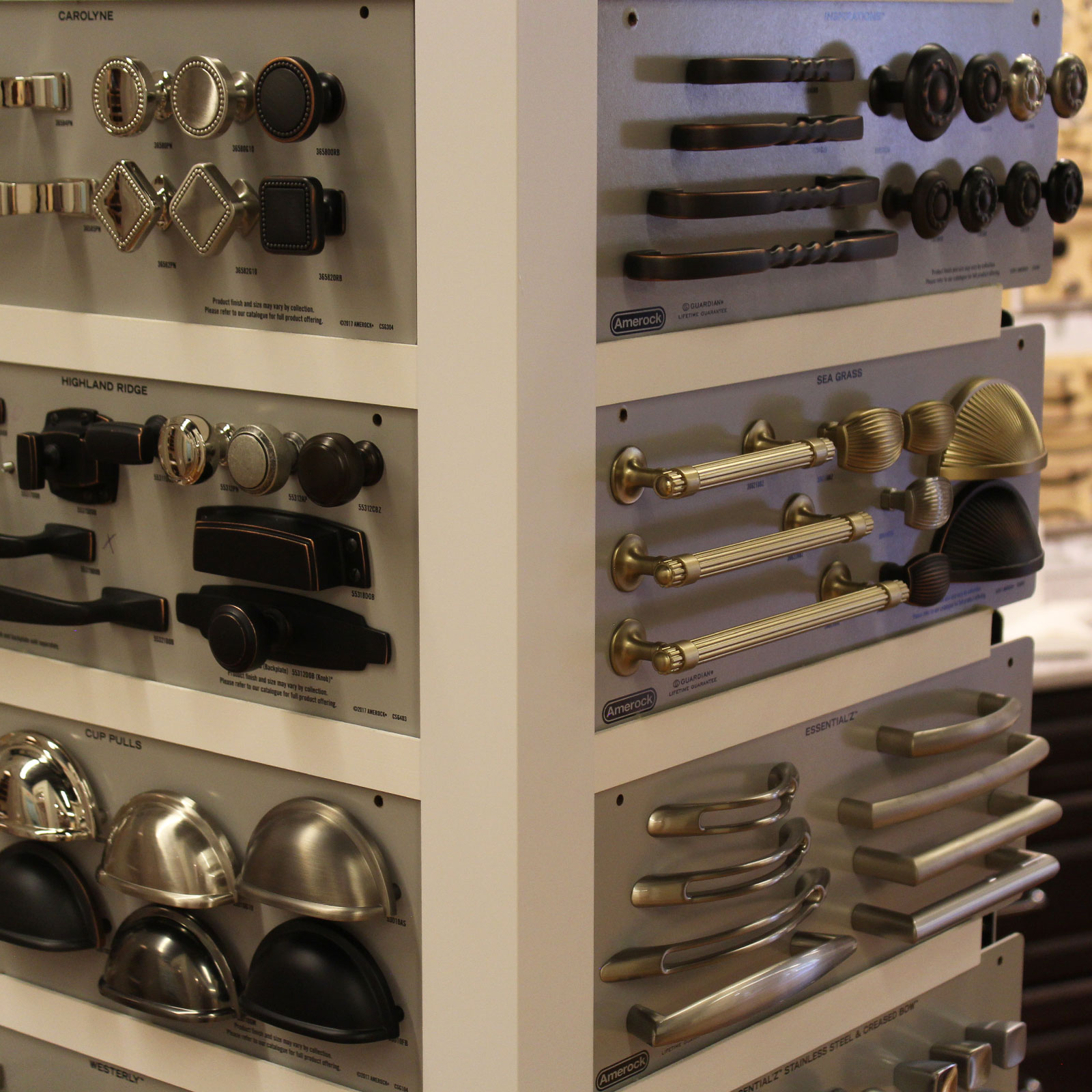 Jackson Kitchen Designs - We have the latest cabinet hardware styles on display for you to choose from